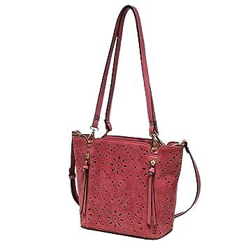 7afe20bfdc94a AIYL Womens Handtaschen,Soft Leder Handtaschen Grosser Kapazität Retro  Vintage Top-Griff Lässige Shopper