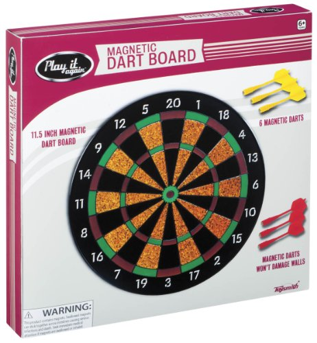 Review Toysmith Magnetic Dart Board