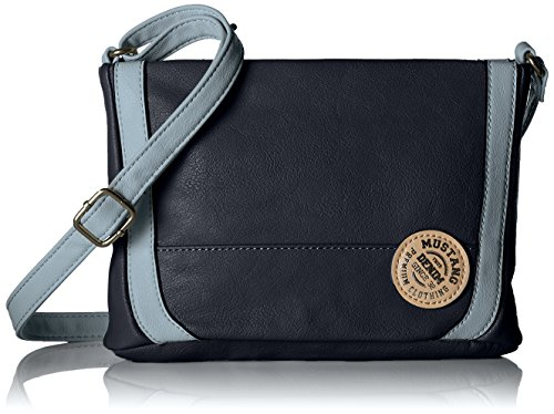 Mustang Blue Madison Shoulderbag Maine Dark Women's Shz Blue Wristlet rYrfzxq