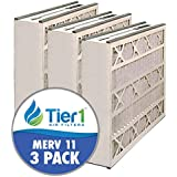 Tier1 16x25x3 Merv 11 Trion / Air Bear / General 259112-101 AB?31625?11 Comparable AC Furnace Air Filter - 3 Pack