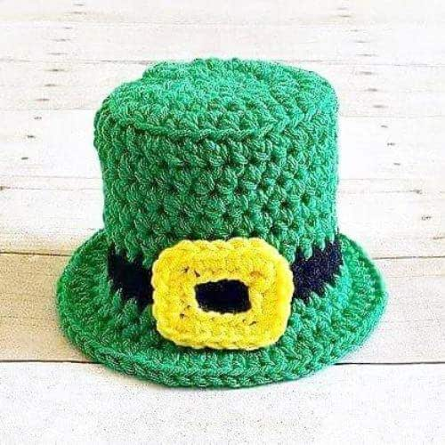 Crochet Leprechaun Hat Beanie Top Hat St. Patrick s Day Infant Newborn Baby  Toddler Child Adult Handmade Photography Photo Prop Baby Shower Gift Present 979b7cf7446