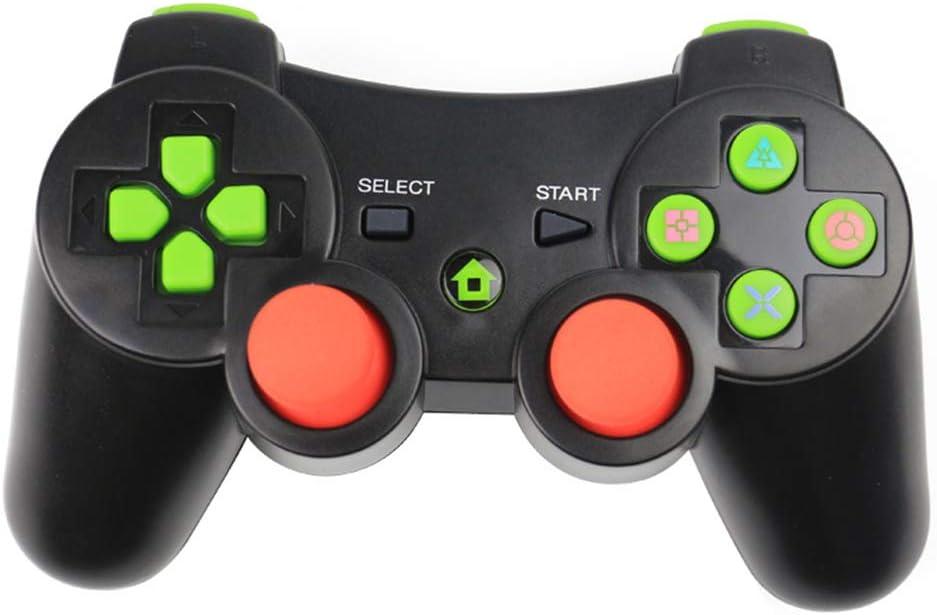F-blue Controlador inalámbrico Bluetooth Wireless Juego Joystick Gamepad para PS3 Videojuegos Handle Joystick