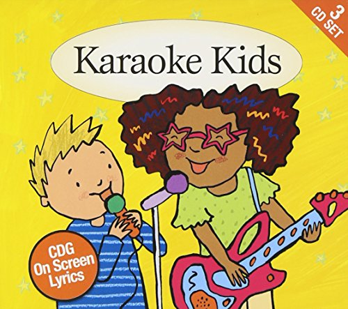 (Karaoke Kids: Cdg On Screen Lyrics 3cd Box Set)