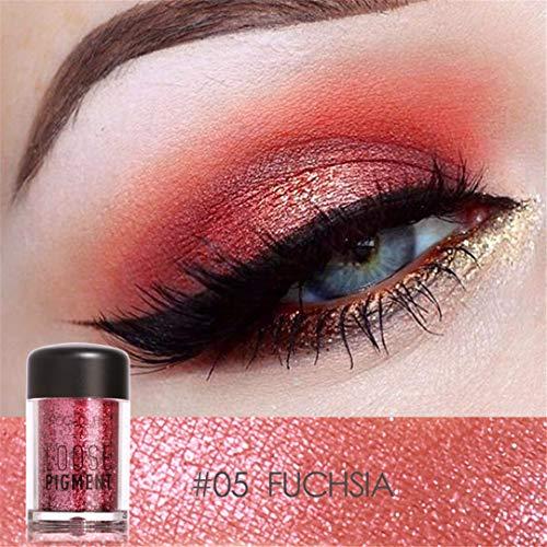 (Crystal Loose Powder Glitter Shimmer Shiny Pigment Eye Shadow Lips Eyes Makeup Woman Colors Beauty)
