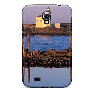 High Grade Chenzong Flexible Tpu Case For Galaxy S4 - Coquille River Lighthouse Bon Oregon