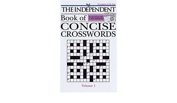 Chambers The Independent Concise Crosswords v.