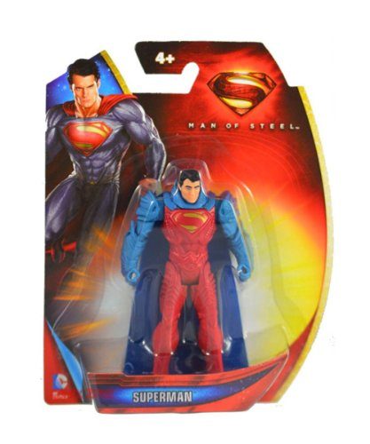 Price comparison product image Superman Man of Steel Armor Suit Superman 3.75 inch Action Figure by Mattel