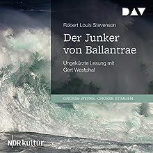 Der Junker von Ballantrae Hörbuch von Robert L. Stevenson Gesprochen von: Gert Westphal