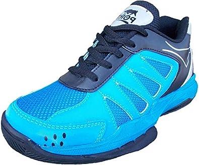370deb902ab56 Port Men's Blue Doddge Volleyball Sports Shoe (9 IND/UK): Buy Online ...