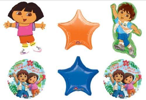 Diego Dora the Explorer children/'s birthday party decorations supplies
