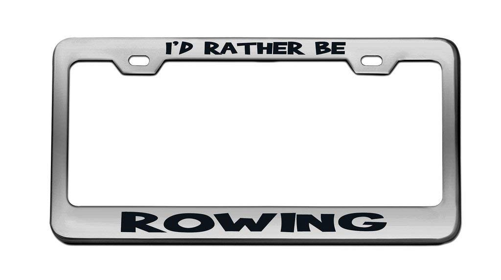 Customized License Plate Frame Humor Aluminum Metal License Plate Frame Auto Car for US Standard 2 Holes and Screws