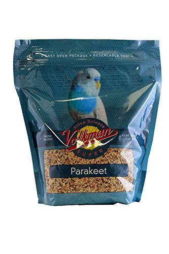 Volkman Avian Science Super Parakeet 4lbs. by Volkman