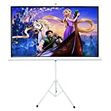 ShowMaven 84-inch 16:9 Matte White Home Theater Projection Projector Screen (with a Feather Duster)