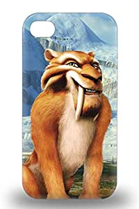 Cute Appearance Cover Tpu American Ice Age Case For Iphone 4/4s