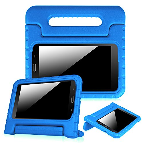 Fintie Shock Proof Case for Samsung Galaxy Tab E Lite 7.0 - Kiddie Series Light Weight Convertible Handle Stand Kids Friendly Cover for Tab E Lite SM-T113 / Tab 3 - Kids Tab 3 Case Samsung Tablet