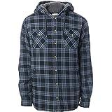 Rip Curl Sherpa Hooded Shirt Small Black