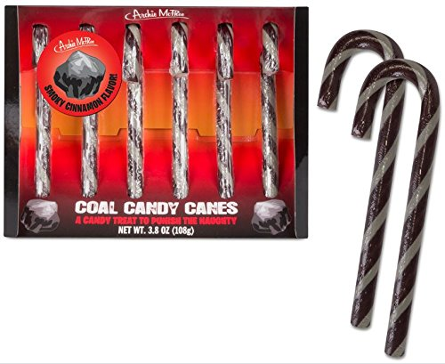 Coal Candy Canes -