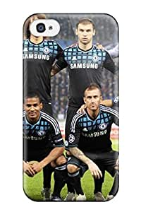 Defender Case With Nice Appearance (chelsea) For Iphone 4/4s