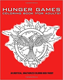 Hunger Games Coloring Book (For Adults): Amazon.de: Bücher