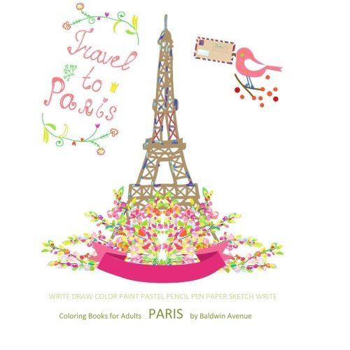 Coloring Books for Adults Paris: Coloring Books for Adults Best ...