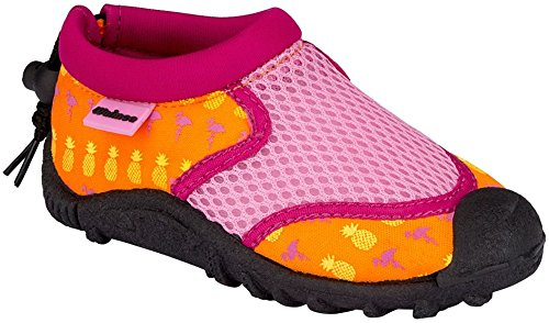 Wasserschuhe Mädchen rosa / orange Größe 25