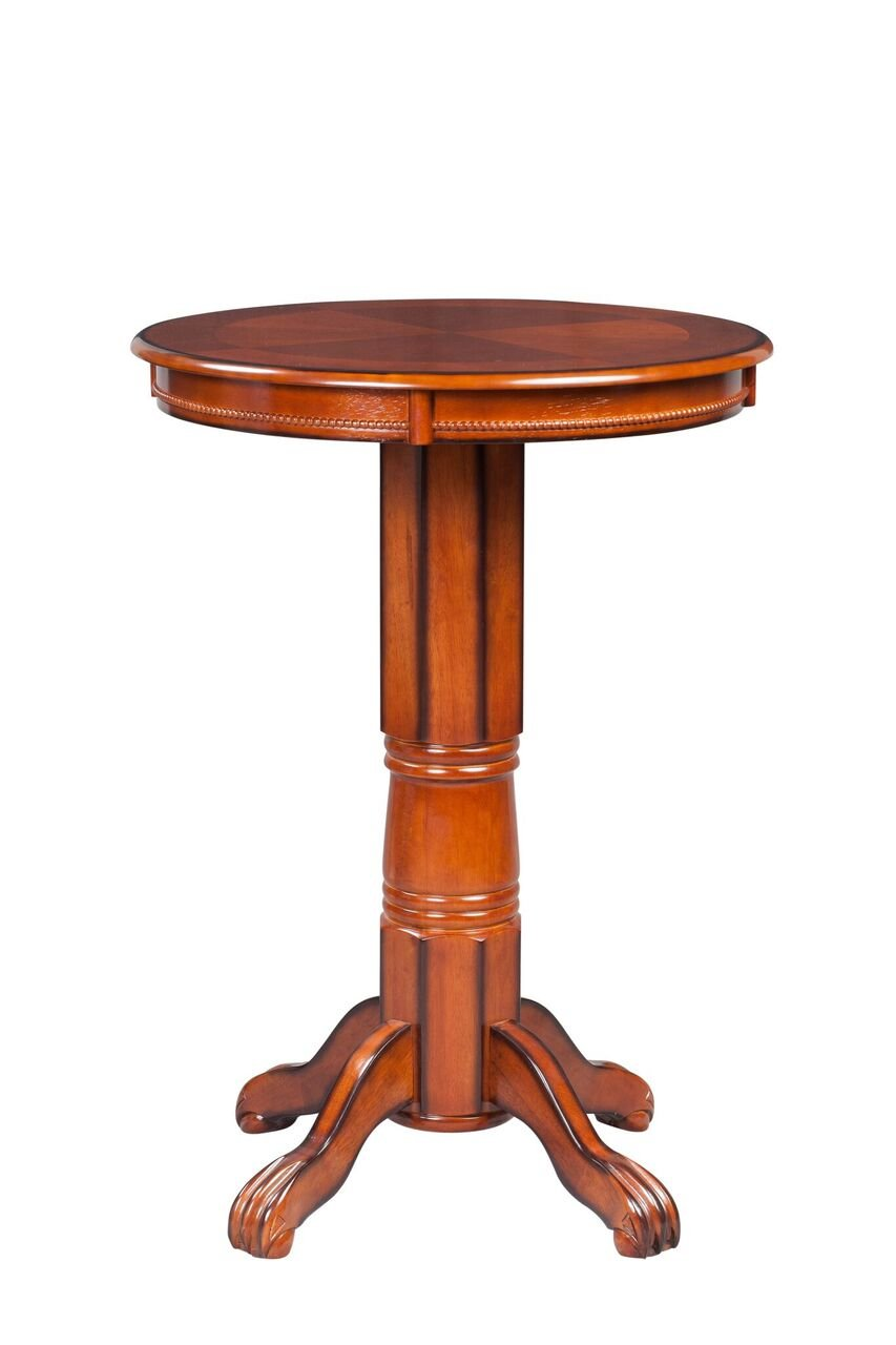 Boraam 71342 Florence Pub Table, 42-Inch, Brandy