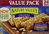 Nature Valley Granola Bars, Crunchy, Variety Pack 17.8 Oz (Pack of 3)