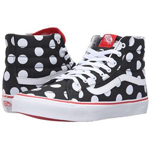 Skool Old Polka Vans Black Herren Fiery Grau UA EU Dot Sneaker 47 qtFawERF