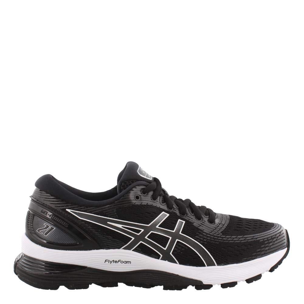 Black Dark Grey ASICS Women's Gel Nimbus 21 Running shoes
