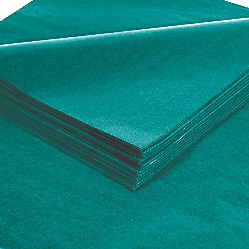 Aviditi T2030O Gift Grade Tissue Paper Sheet, 30'' Length x 20'' Width, Teal (Case of 480) by Aviditi