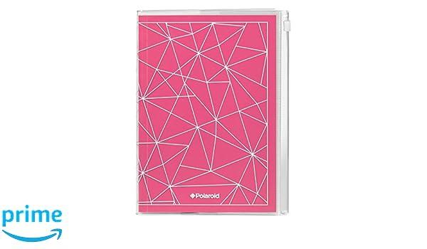 Polaroid pol098 funda con cremallera portátil - Rosa: Amazon.es: Oficina y papelería