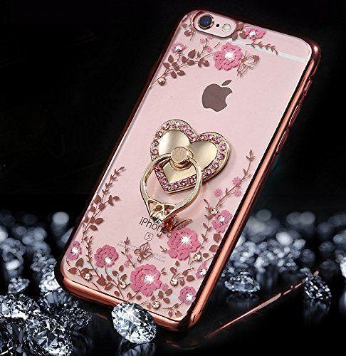 laniard Intégral Complète Trempé 5s se Iphone Faces Platin Tpu Souple Full 360 Case Bumper etsue Se etui Silicone Body Film doré verre Se Double Degrés Coque rose ring Coque 5s Protection Etui wAFx6Wxz