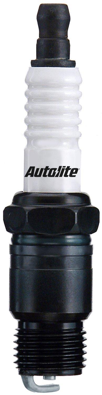 Pack of 1 Autolite 147 Copper Resistor Spark Plug