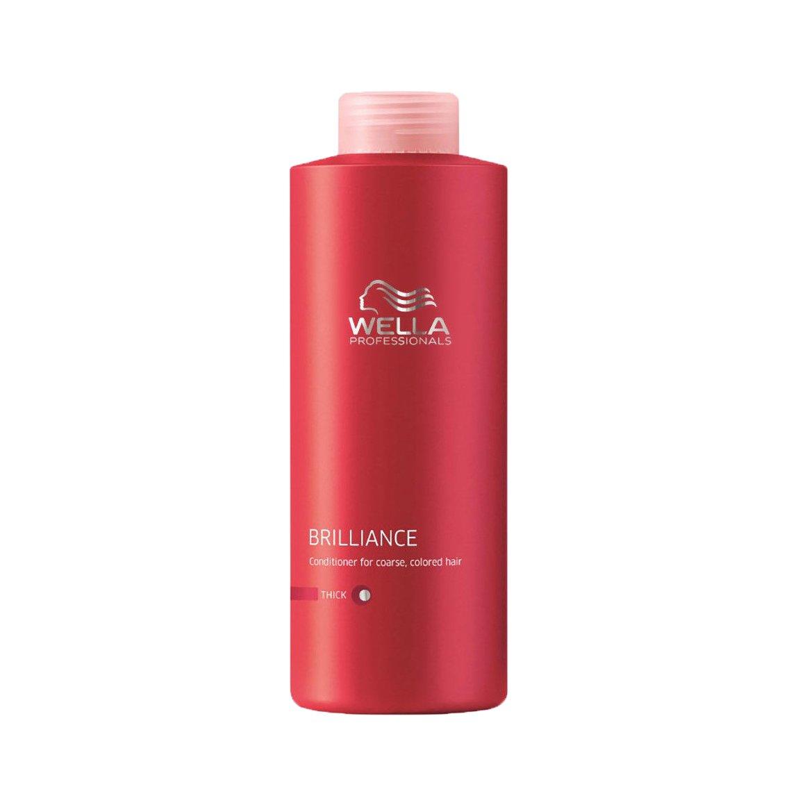 Wella Brilliance Conditioner Dickes Haar 1000ml 4015600117610 4015600117610_Blanco