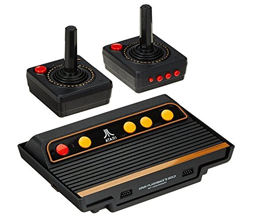 atari flashback 8 gold console hdmi 120 games 2 wireless controllers foxviewshop. Black Bedroom Furniture Sets. Home Design Ideas