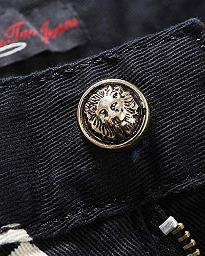 Vintage In Jeans Nightclub Skinny Classiche Ragazzi Denim Casual Lunghi Nero Uomo Slim Stretch Pantaloni Elasticizzati Da v7I4cRA8