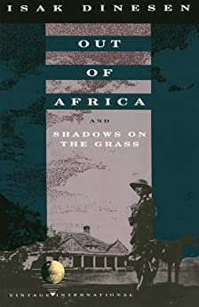 Amazon Com Out Of Africa And Shadows On The Grass border=