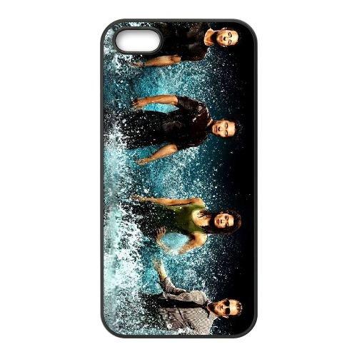 Hawaii Five 0 Season 3 coque iPhone 5 5S cellulaire cas coque de téléphone cas téléphone cellulaire noir couvercle EOKXLLNCD24301