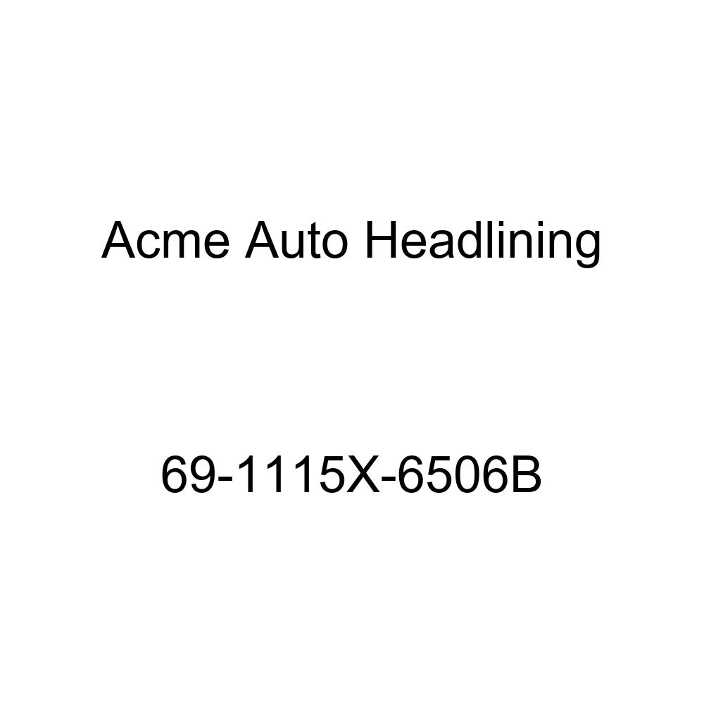 Acme Auto Headlining 69-1115X-6506B Aqua Replacement Headliner Conversion Buick Electra 4 Dr Hardtop w//Original Board Headliner