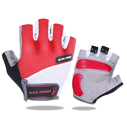Cycling Riding Gloves Bicycle MTB Lycra Gel Anti-Slip Summer Mittens Motorcycle