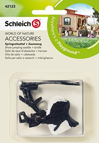 Schleich Show Jumping Saddle and Bridle by Schleich