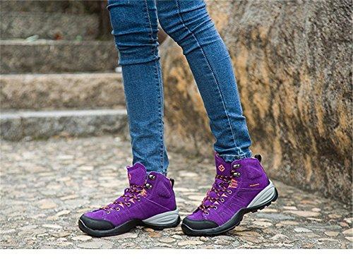 Scarpe Da Trekking Senxi Da Uomo E Da Donna Per Il Tempo Libero Allaria Aperta 4 Colori Opzionali Viola