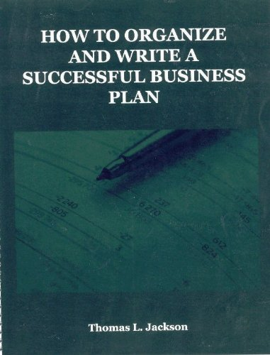 How To Write A Business Plan (P)