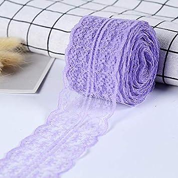 Giallo 2 Metri//Lotti 43mm Lace Ribbon DIY Apparel Sewing /& Fabric Materiale fatto a mano Blu Viola Verde Rosa Rosso Bianco Lace Trim