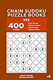 Chain Sudoku Puzzle Books - 400 Easy to Master