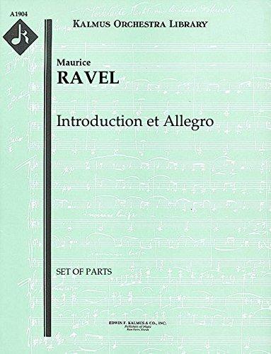(Introduction et Allegro: Set of Parts)
