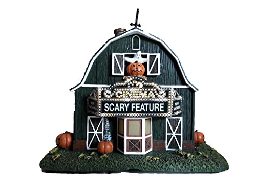 iversal Studios Munsters Collection The Old Barn Theater Collectible Halloween House Display ()