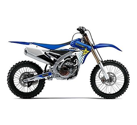 One Industries 2015 Yamaha Rockstar Graphic Kit - 64248-013 (Blue - YZ 125/250 2002-2014) - One Industries Graphics Kits