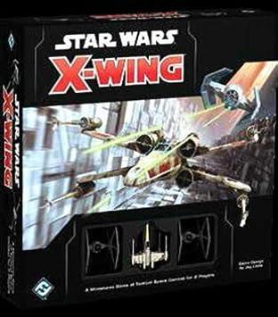 Star Wars Games Ffgswx01 X Wing Mini Juego De Mesa Diseno De Star