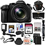 Panasonic Lumix DMC-FZ2500 4K Wi-Fi Digital Camera with 64GB Card...